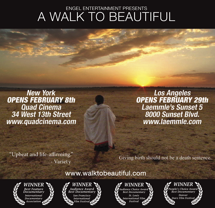 Come See A Walk to Beautiful-Feb 13th
