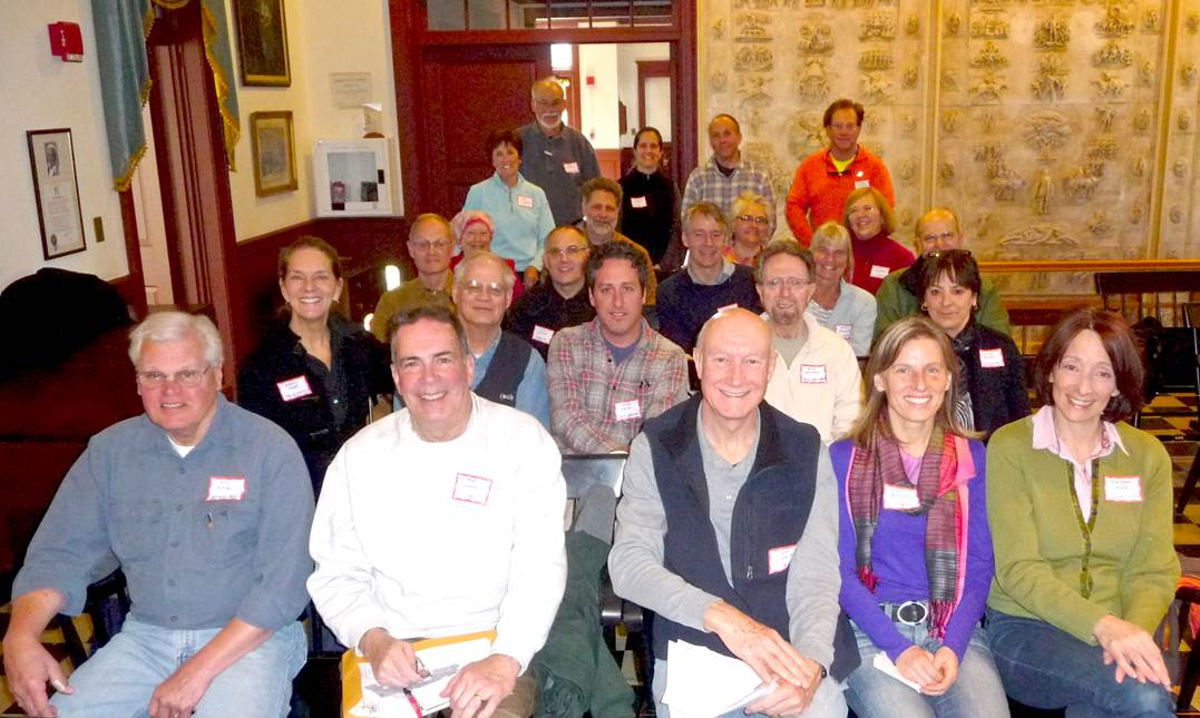 Trail Stewards at 2013 Meeting