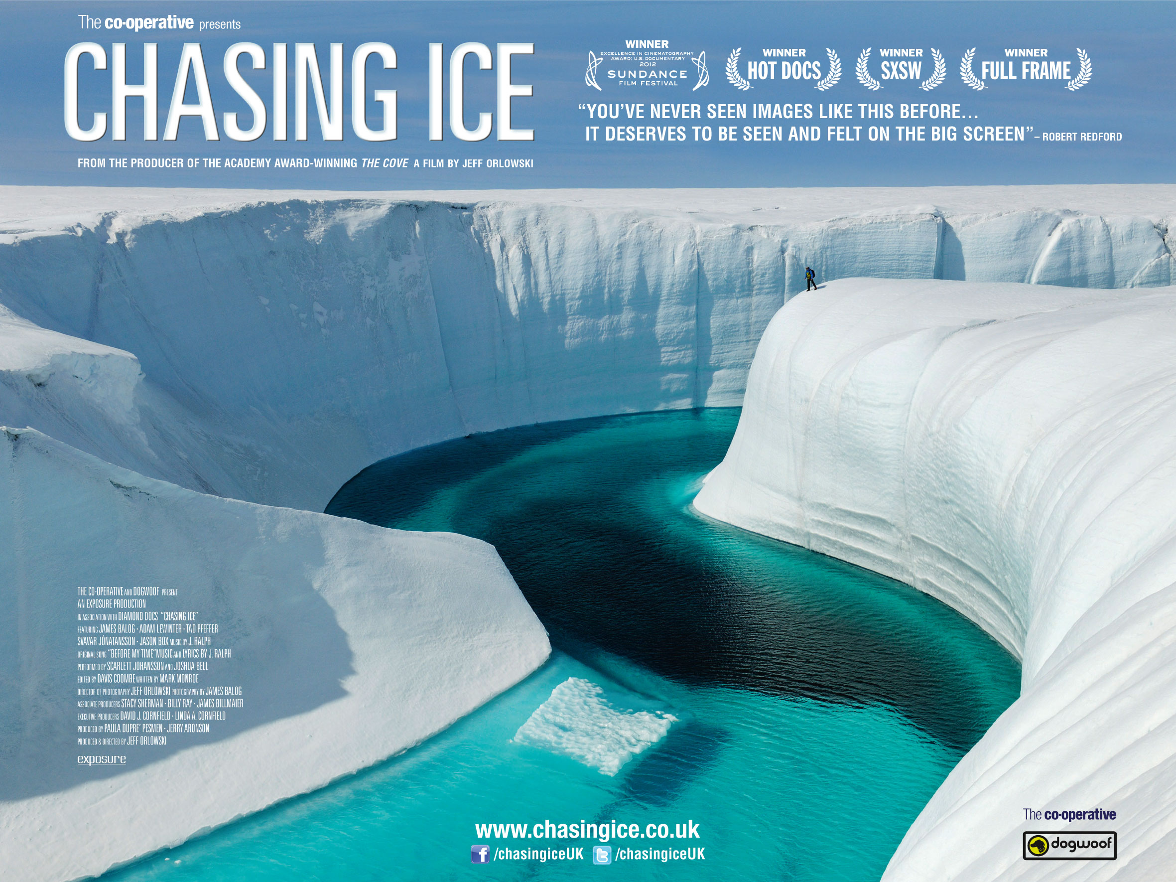 "Upcoming Event: ""Chasing Ice"" movie at the Darien Library, May 12th"