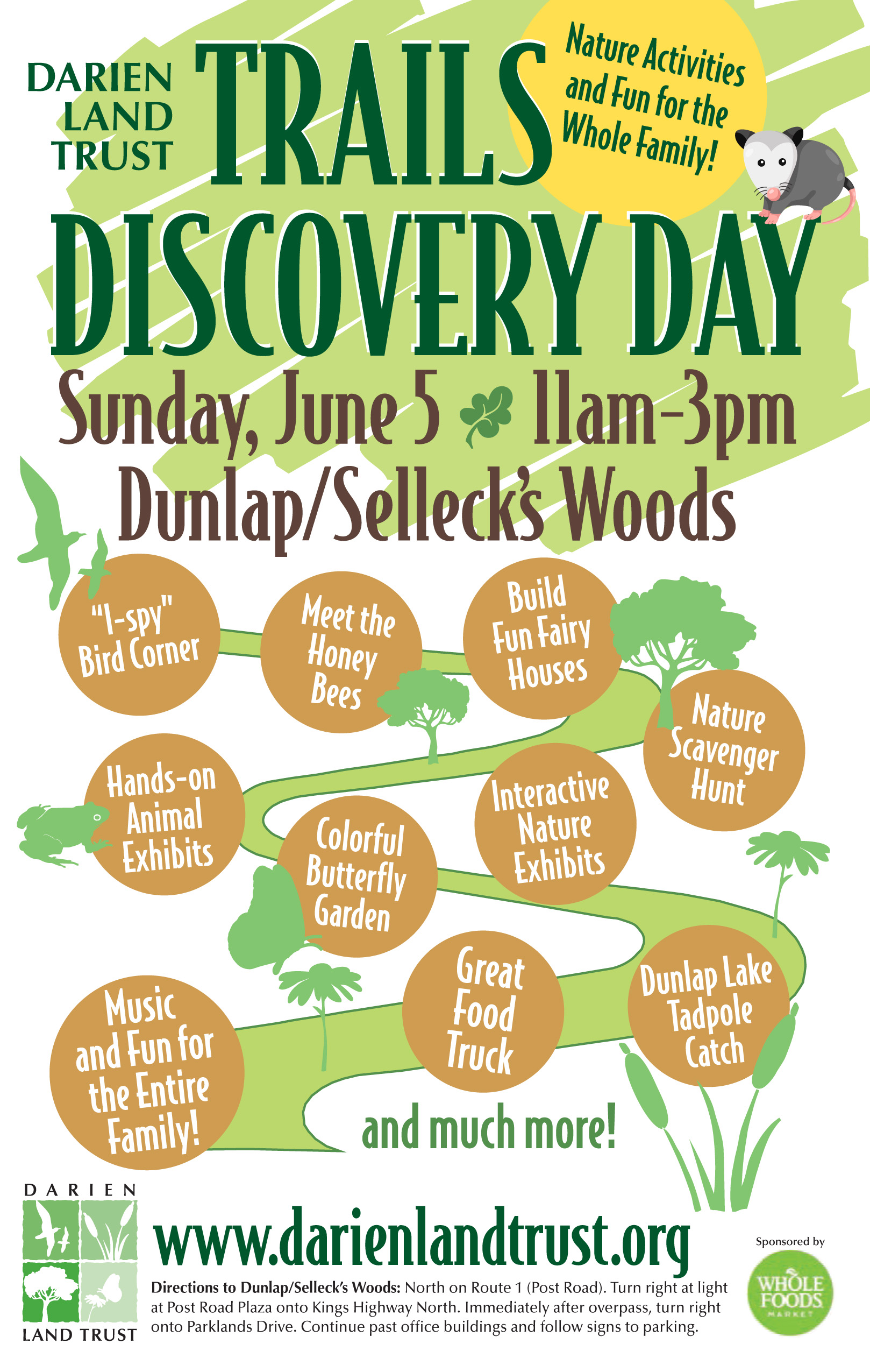 "Upcoming Event: ""Trails Discovery Day"" on Sunday, June 5 from 11am - 3pm"