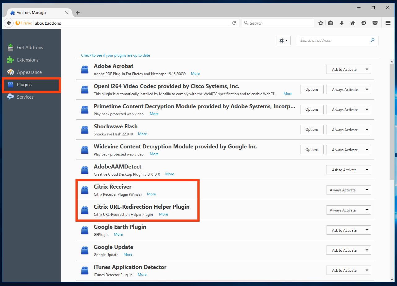 Uninstalling and Reinstalling Citrix Receiver for Windows - mandegar