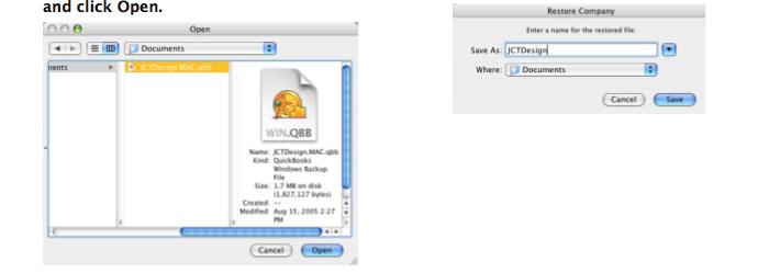 Sharing QuickBooks File between Windows and Macintosh