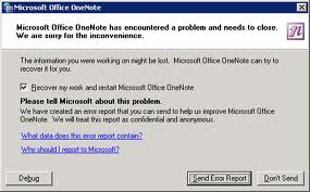 OneNote and SkyDrive Fail