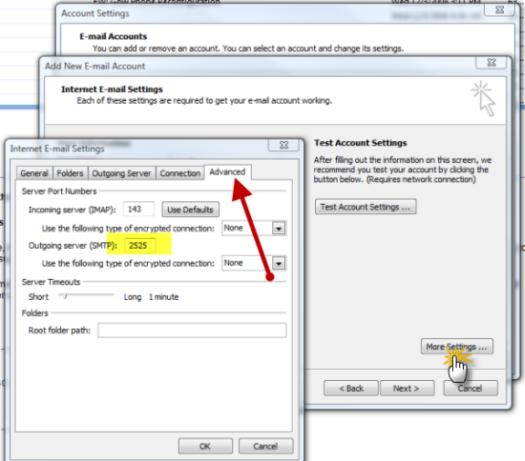How Do I Change My SMTP Port