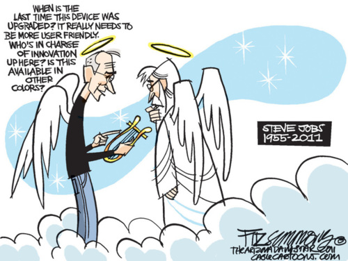 Steve Jobs Remembered In Cartoons Suretech Com It Solutions For Your Workflow