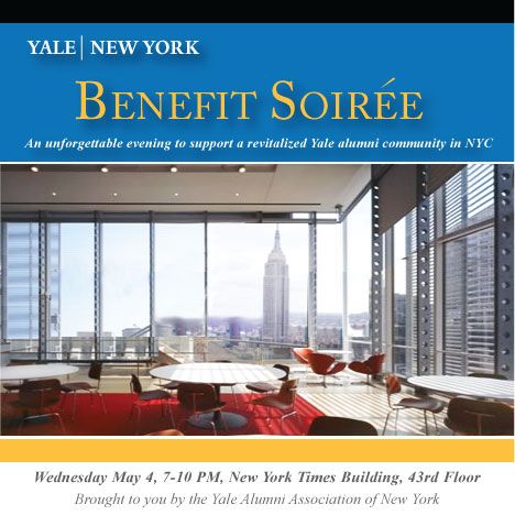Second Annual Yale New York BENEFIT SOIREE!